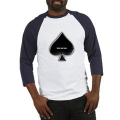 Of Spades Baseball Jersey T-Shirt