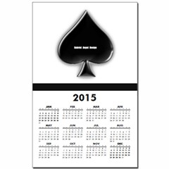 Of Spades Calendar Print