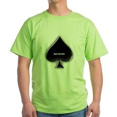 Of Spades Green T-Shirt