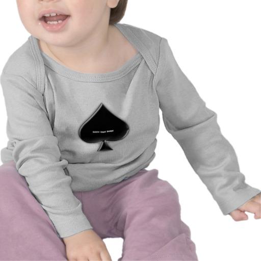 Of Spades Infant Bella Long Sleeve T-Shirt