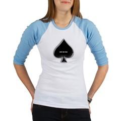 Of Spades Junior Raglan T-shirt