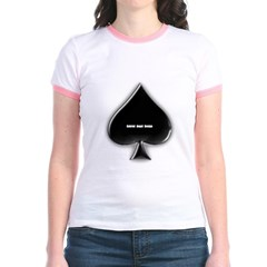 Of Spades Junior Ringer T-Shirt