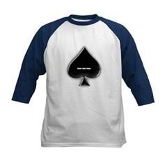Of Spades Kids Baseball Jersey T-Shirt
