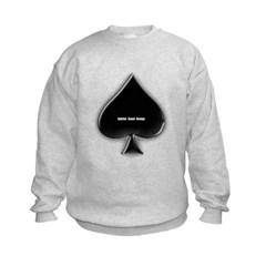 Of Spades Kids Crewneck Sweatshirt by Hanes