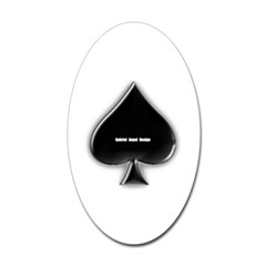 Of Spades Oval Decal