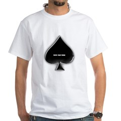 Of Spades White T-Shirt