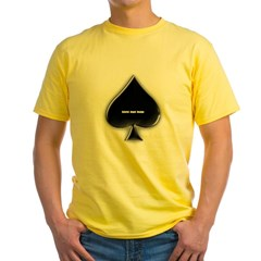 Of Spades Yellow T-Shirt