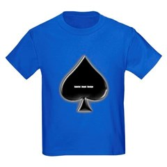 Of Spades Youth Dark T-Shirt by Hanes