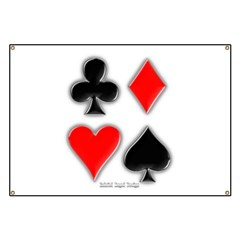 Playing Card Suits Banner