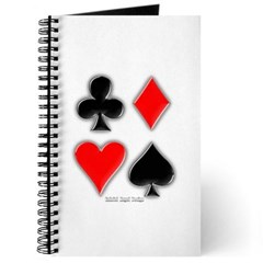 Playing Card Suits Journal