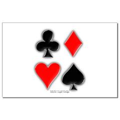 Playing Card Suits Small Posters