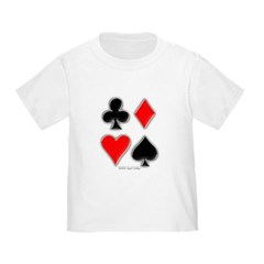 Playing Card Suits Toddler T-Shirt