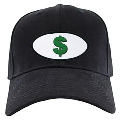 Green Dollar Sign Baseball Hat
