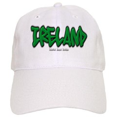 Ireland Graffiti Baseball Cap