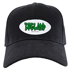 Ireland Graffiti Baseball Hat