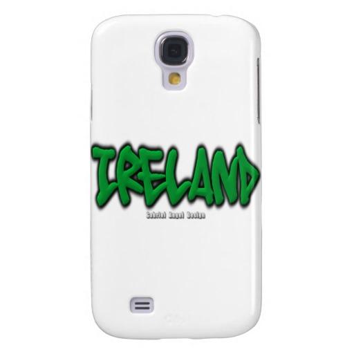Ireland Graffiti Case-Mate Barely There Samsung Galaxy S4 Case