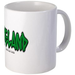 Ireland Graffiti Coffee Mug