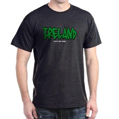 Ireland Graffiti Dark T-shirt