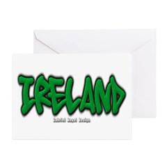 Ireland Graffiti Greeting Cards (Pk of 10)