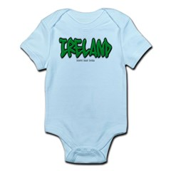 Ireland Graffiti Infant Bodysuit