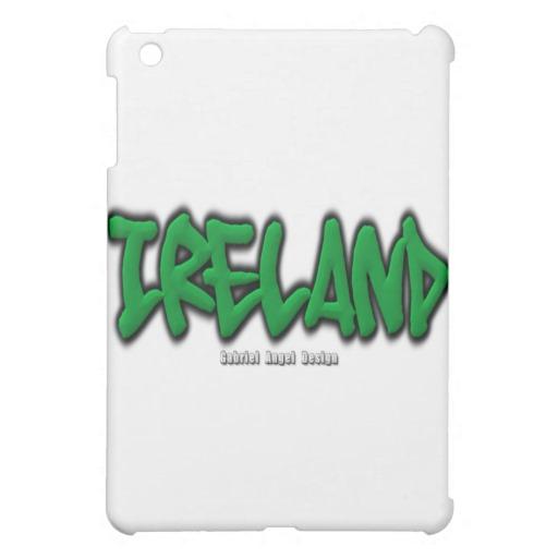 Ireland Graffiti iPad Mini Matte Finish Case