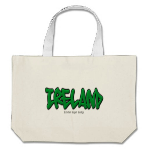 Ireland Graffiti Jumbo Tote