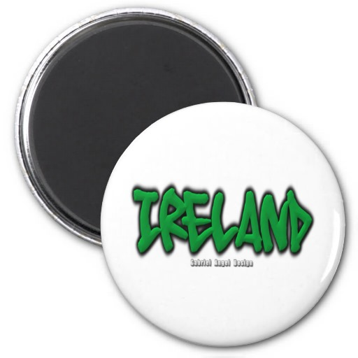 Ireland Graffiti Magnet