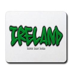 Ireland Graffiti Mousepad