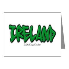 Ireland Graffiti Note Cards (Pk of 20)