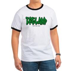 Ireland Graffiti Ringer T-Shirt