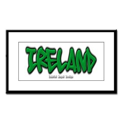Ireland Graffiti Small Framed Print