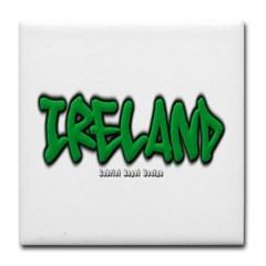 Ireland Graffiti Tile Coaster