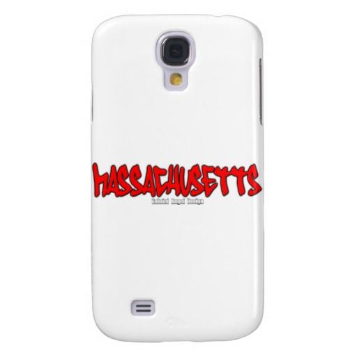 Massachusetts Graffiti Case-Mate Barely There Samsung Galaxy S4 Case