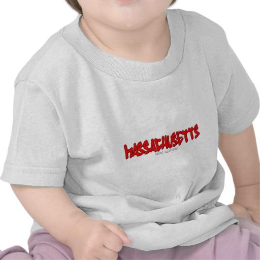 Massachusetts Graffiti Infant T-Shirt