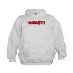 Massachusetts Graffiti Kids Sweatshirt by Hanes