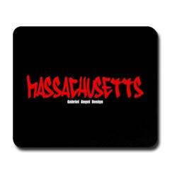 Massachusetts Graffiti Mousepad