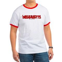 Massachusetts Graffiti Ringer T-Shirt