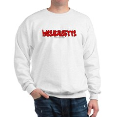 Massachusetts Graffiti Sweatshirt