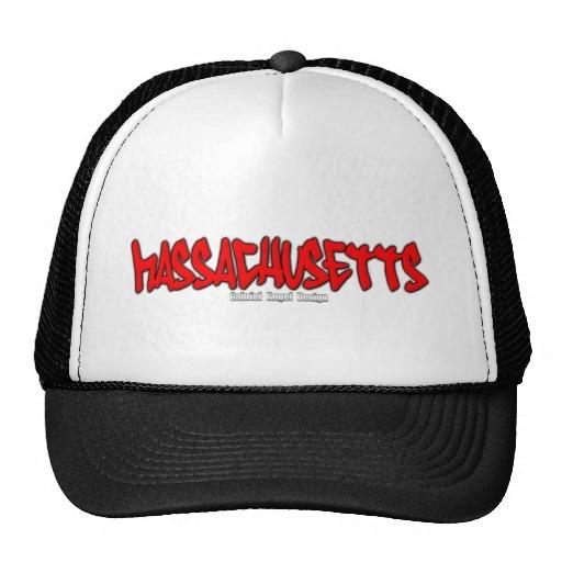 Massachusetts Graffiti Trucker Hat