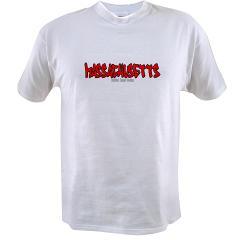 Massachusetts Graffiti Value T-shirt