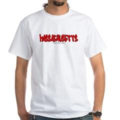 Massachusetts Graffiti White T-Shirt