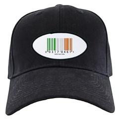 Barcode Irish Flag Baseball Hat