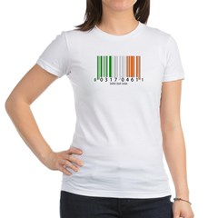 Barcode Irish Flag Junior Jersey T-Shirt