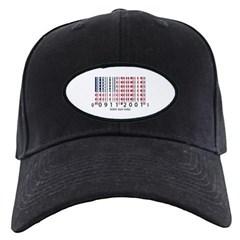 Barcode USA Flag Baseball Hat