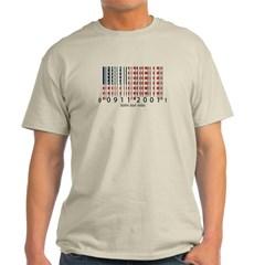 Barcode USA Flag Classic T-Shirt
