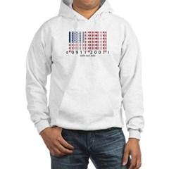 Barcode USA Flag Hooded Sweatshirt
