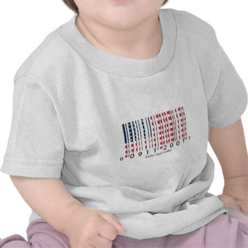Barcode USA Flag Infant T-Shirt