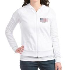 Barcode USA Flag Junior Zip Hoodie