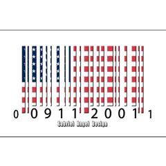 Barcode USA Flag Posters