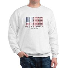 Barcode USA Flag Sweatshirt